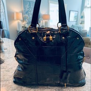 Yves Saint Laurent YSL Leather Muse Bag Purse